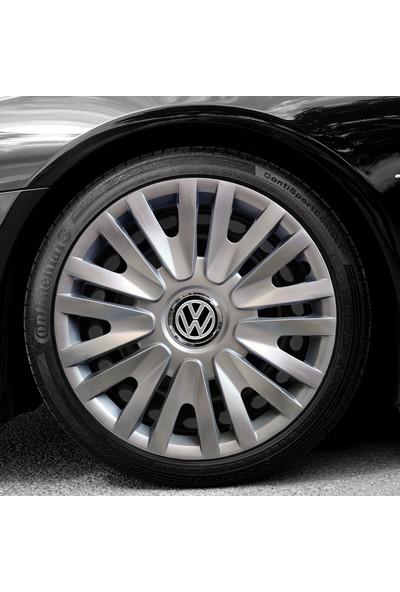 Serkan Auto Volkswagen Caddy 15'' Inç Uyumlu Jant Kapağı 4 Adet 1 Takım 2005