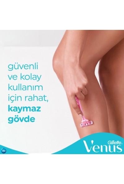 Gillette Simply Venüs 3 Kullan At Kadın Tıraş Bıçağı 4'Lü + Diyetisyenden Sistematik Zayıflama Diyeti E-Kitabı