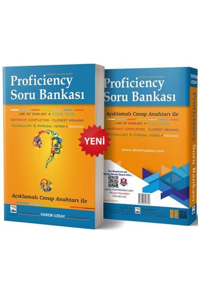 Nisan Kitabevi Proficiency Hazırlık Atlama Sınavı 4 Denemeli Konu Anlatım + Soru 2'li Full Set- Ekrem Uzbay
