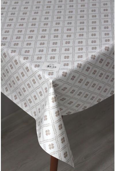 Dede Ev Tekstil Elyaf Silinebilir Pvc Muşamba Masa Örtüsü Yonca - 8120-1-DDHOME-001