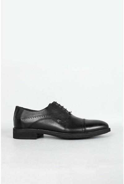 Berenni Klasik Deri Siyah Erkek Ayakkabı 686