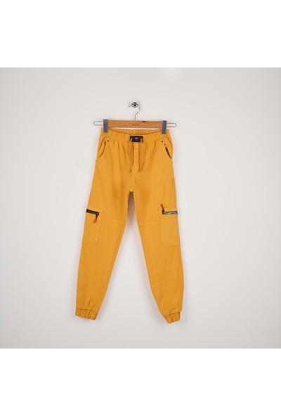 Mutlu Kids Beli ve Paçası Lastikli Pantolon