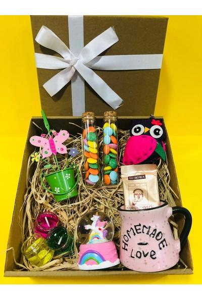Yeşil Elma Hediyelik Kız Arkadaşa Hediye Sevgiliye Eşe Hediye Kutusu Doğum Günü Hediyesi Yıldönümü Hediyesi