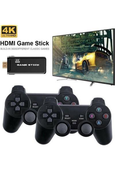 Romix Game Stick 4K 3500 Oyunlu 2 Kollu Retro Atari Oyun Konsolu