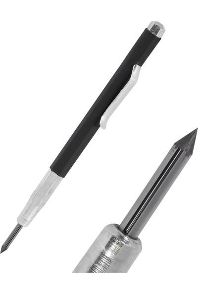 Dalyan Metal Çizik Kalemi Karbür Uçlu Metal Çizici Kalem 130 mm