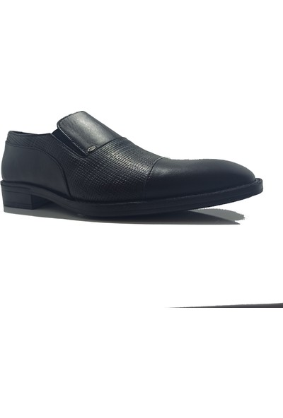 Berenni M-270 Siyah Deri Klasik Erkek Ayakkabı