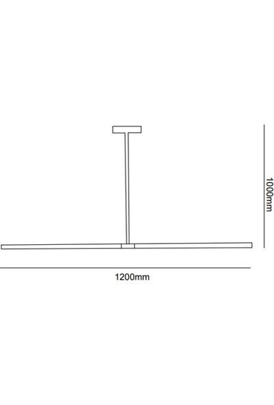 voxlamp lighting solutions Samsung Ledli Plush 120 cm Sarkıt LED Avize