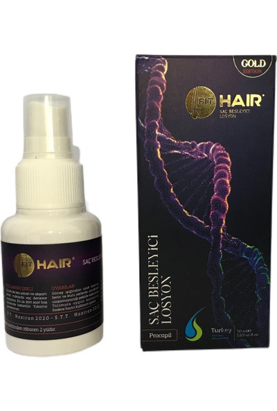 Fit Hair Fithair Gold Losyon + Fithair Şampuan (7 In 1)
