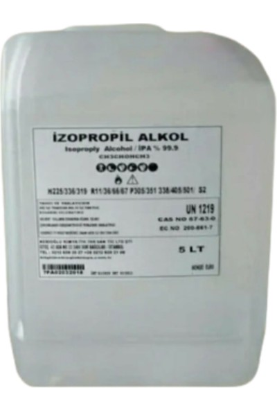 Keepsake Izopropil Alkol 5 Lt