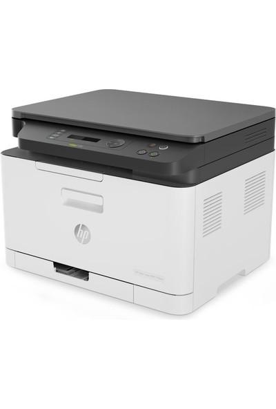 HP Color Laser MFP 178NW Tarayıcı + Fotokopi + Wi-Fi Renkli Lazer Yazıcı 4ZB96A