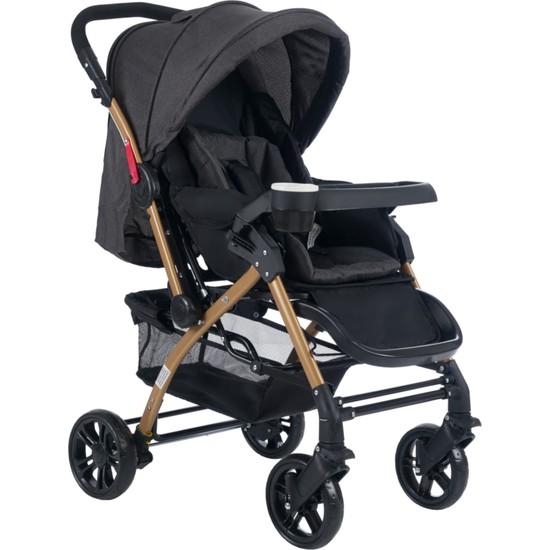 Cansın Mini Bebek Arabası-Antrasit 98245