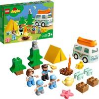 LEGO® Duplo® Kasabası Ailece Karavan Macerası 10946 Çocuklar İçin Kamp Temalı Yapım, Oyun ve Öğrenme Oyuncağı (30 Parça)