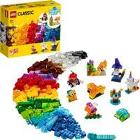 LEGO Classic 500 Parçalık Yaratıcı Şeffaf Parçalar Kutusu (11013) - Çocuk Oyuncak Yapım Seti