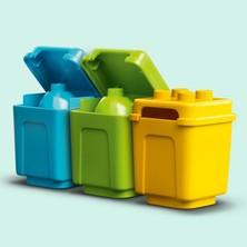 LEGO® Duplo® Kasabası Çöp Kamyonu ve Geri Dönüşüm 10945 Eğitici Yapım Oyuncağı; Çocuklar İçin Geri Dönüşüm Kamyonu (19 Parça)