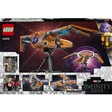 LEGO® Marvel Koruyucuların Gemisi 76193 Uzay Gemisi Yapım Seti; 6 Minifigür İçeren Çocuk Oyuncak (1902 Parça)