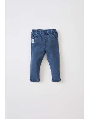 DeFacto Erkek Bebek Esnek Belli Jean Pantolon W1489A221AU