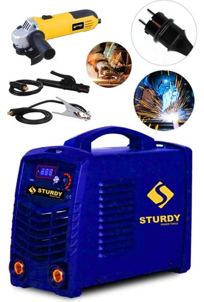 Sturdy Power Tools Special Model Monostick Technology Super Ultrasonıc 200 Amp Dijital Göstergeli Taşlama Ile Beraber Invertör Kaynak Makinası