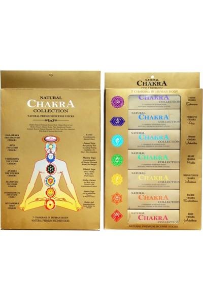 Miamantra A.s. Agarbathi Naturals 7 Çakra Premium Tütsü Seti (7li Set)