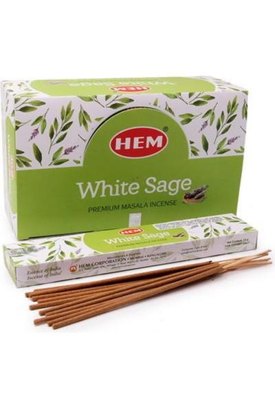 Hem Tütsü Hem Marka White Sage (Beyaz Adaçayı) Tütsüsü
