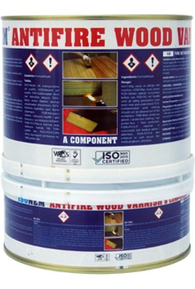 Isonem Anti-Fire Wood Varnish Yangın Yavaşlatıcı Ahşap Verniği 1.5 kg