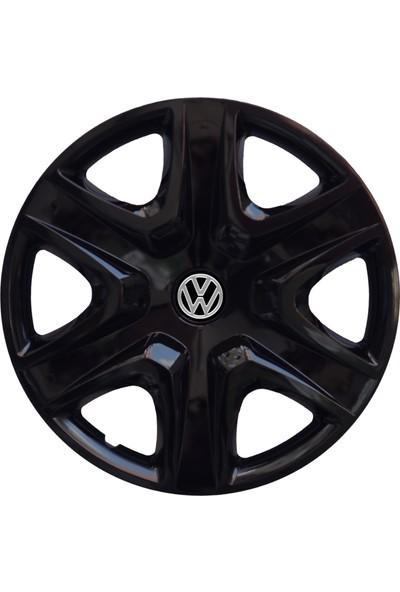 Kadiroğlu Volkswagen Caddy 15'' Inç Uyumlu Jant Kapağı 4 Adet 1 Takım 1004 Kırılmaz Esnek Plastik