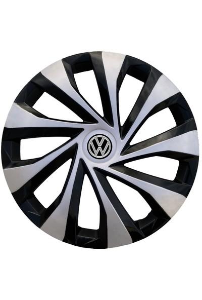 Kadiroğlu Volkswagen Caddy 15'' Inç Uyumlu Jant Kapağı 4 Adet 1 Takım 3005 Kırılmaz Esnek Plastik