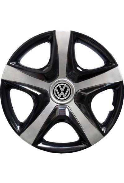 Kadiroğlu Volkswagen Caddy 15'' Inç Uyumlu Jant Kapağı 4 Adet 1 Takım 3014 Kırılmaz Esnek Plastik