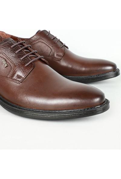 Berenni Günlük Deri Kahverengi Erkek Ayakkabı 560