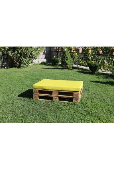 Tiryaki Aksesuar Dış Mekan Palet Balkon Yat Bahçe Sahil Minderi Su Geçirmez Kumaş Palet Oturak