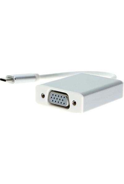 Ice Macbook Uyumlu Type C To VGA Dönüştürücü Adaptör