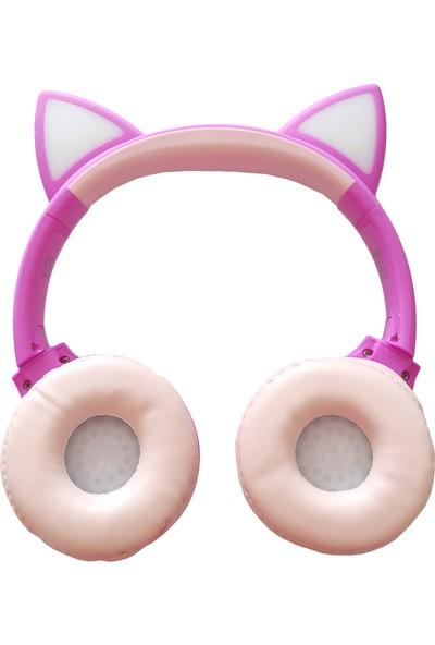 Kensa KB-910 Kedicik Pembe Kulaklık