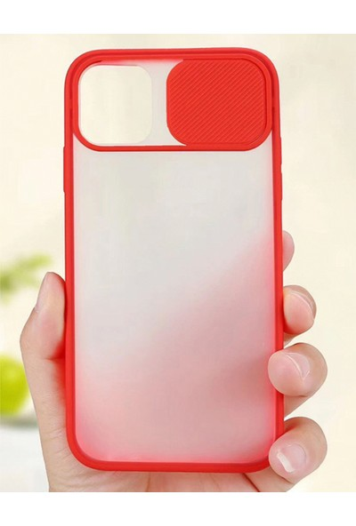 Case Markt Xiaomi Redmi Note 10 Sürgülü Kamera Korumalı Telefon Kılıfı
