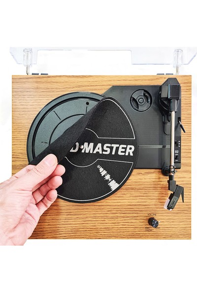 Record Master TT202J Pikap - Bluetooth Özellikli - Tüm Plaklar Ile Uyumlu