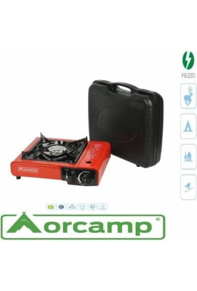 Orcamp Portatif Ocak +4 Kartuş Kamp Malzemeleri ve Kamp Ocağı