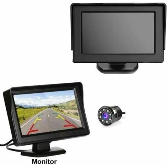 """MFK ✅geri Görüş Monitörü 4.3"""" Ekran + Kamera"""