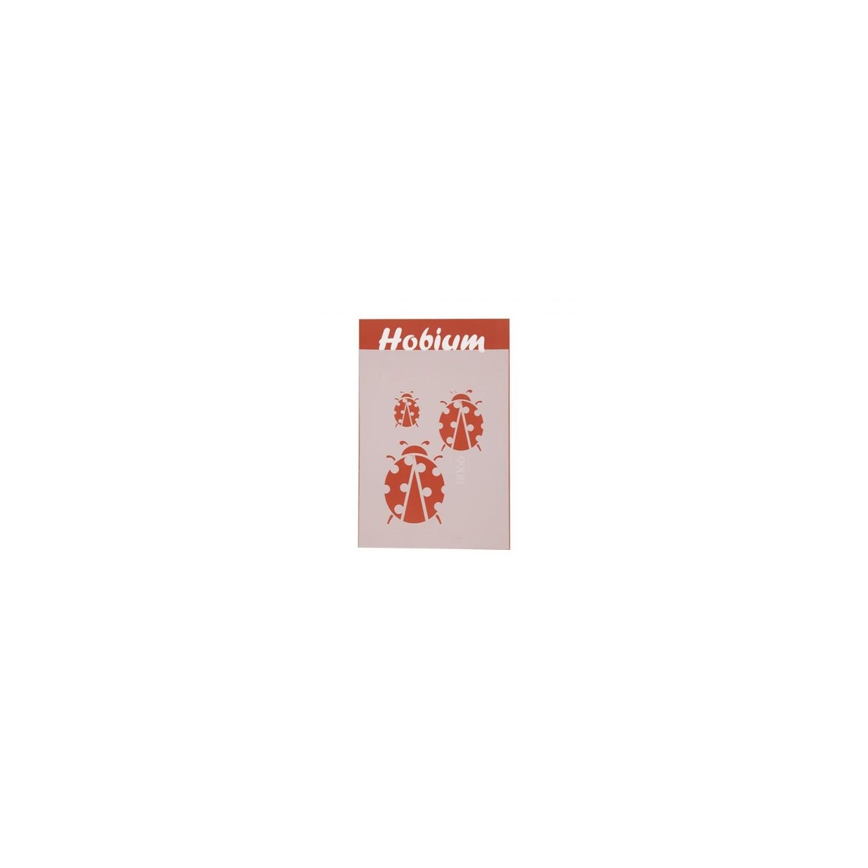 Hobium 3lü Uğur Böceği şekilli Stencil şablon 8066 Fiyatı