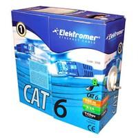 Elektromer Cat6 24 Awg Ethernet Kablosu 100 Metre
