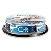 Philips CD-R 700MB 52X 10'lu Cakebox