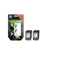 HP 56 Siyah Mürekkep Kartuş - 2' li EKO Paket C9502A / C9502AE