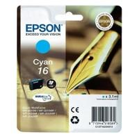 Epson T162240 WF2010-2520-2540 (16) Mavi Kartuş