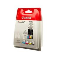 Canon Clı-551Cmybk 4'Lü Set Mürekkep Kartuş