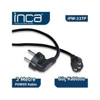 Inca Kablo Power Inca 3 Metre Power Kablosu Ipw-33Tp