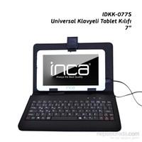 """Inca IDKK-077S Darkshark 7"""" Siyah Tükçe Klavyeli Tablet Kılıfı"""