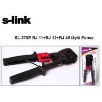 S-Link Sl-378E Rj45+Rj11+Rj12 Üçlü Pense