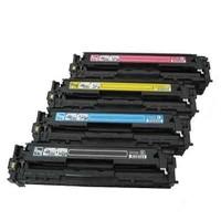 Kripto Hp Color Laserjet Pro Cp1215 Kırmızı Renkli Toner Muadil Yazıcı Kartuş