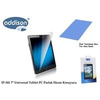 Addison Ip-341 7` Universal Tablet Pc Parlak Ekran Koruyucu