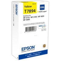Epson C13t789440 Wf-5Xxx Series Ink Cartridge Xxl Yellow