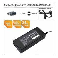 Toshiba 19V 4.74A-5.5*2.5 Notebook Adaptörü Şarj