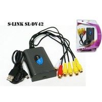 S-Link Sl-Dv42 Usb To Dvr 4 Port Adaptör