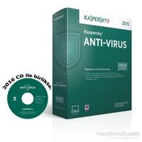 Kaspersky Antivirüs 2015 1 Kullanıcı 1 Yıl Kutu (2016 Sürümüne Yükseltilebilir)